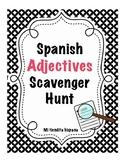 SPANISH ADJECTIVES SCAVENGER HUNT