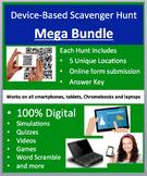 Scavenger Hunt Mega Bundle - Fun, device-based science activities