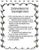 Scavenger  Hunt Module 3 Lessons 1-5