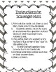 Scavenger Hunt Module 7 Lessons 4-11