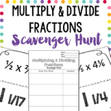 Scavenger Hunt: Multiplying & Dividing Fractions