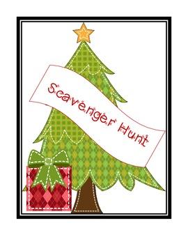 Scavenger Hunt * Nouns * Verbs * Adjectives