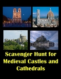 Scavenger Hunt  Of Medieval Castles and Cathedrals using Google Maps