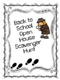 Scavenger Hunt Open House Pack