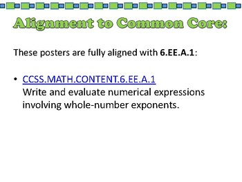 Scavenger Hunt: Order of Operations - 6.EE.A.1.