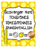 Scavenger Hunt:  Place Value and Coins