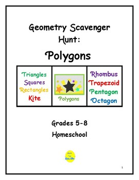 Scavenger Hunt: Polygons