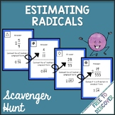 Estimating Square Roots Activity - Scavenger Hunt