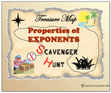 Scavenger Hunt - Properties of Exponents