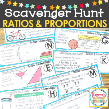 Ratios and Proportion Scavenger Hunt