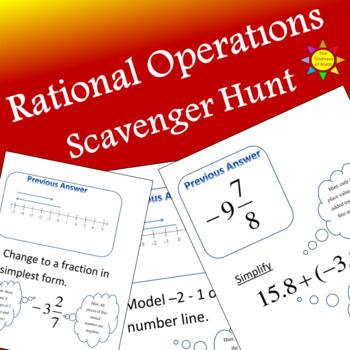 Rational Operations Scavenger Hunt