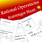 Rational Operations Scavenger Hunt