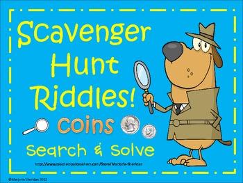 Scavenger Hunt Riddles - Coins!