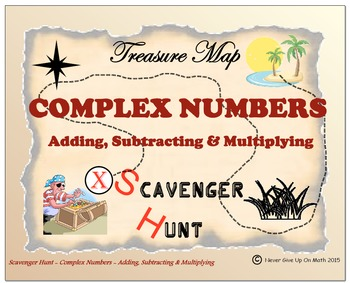 Scavenger Hunt {School/Home/Stations} - Complex Numbers (A