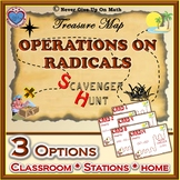 Scavenger Hunt {School/Home/Stations} - Operations on Radicals