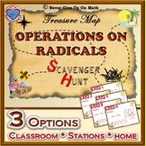 Scavenger Hunt {School/Home/Stations} - Operations on Radicals