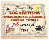 Scavenger Hunt {School/Home/Stations}-Transformation of Logarithmic Function -L2