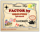 Scavenger Hunt {School/Home/Stations} - Factor by Grouping (Advanced)