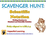 Scavenger Hunt: Scientific Notation 8.EE.A.3