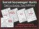Scavenger Hunt: Social Scavenger Hunts BUNDLE