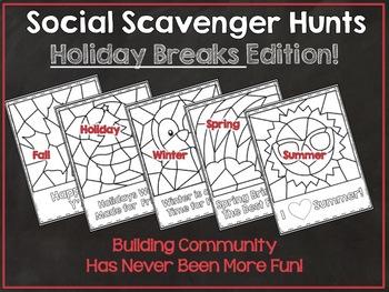 Scavenger Hunt for School Breaks: Social Scavenger Hunts
