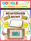 Scavenger Hunt: Solve Quad Eq Graphing Calculator (Google Interactive & Copy)