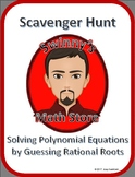 Scavenger Hunt: Solving Polynomial Equations with the Rational Root Theorem