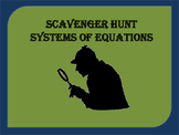 Scavenger Hunt: Systems of Equations