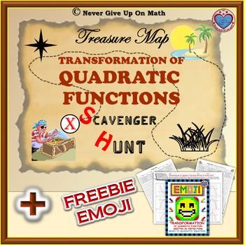 Scavenger Hunt - Vertex Form and Transformation of Quadratic Function