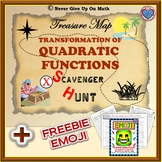 Scavenger Hunt - Vertex Form and Transformation of Quadratic Function & EMOJI