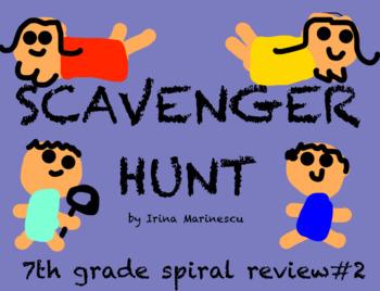 Scavenger Hunt Transformations 8.G.A.3&4