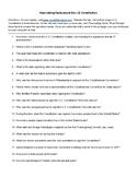Scavenger Hunt - US Constitution