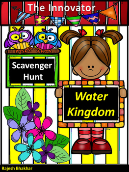 Scavenger Hunt  - Water Kingdom