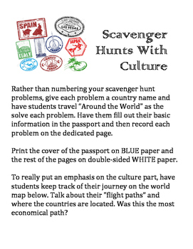 Scavenger Hunt With Culture