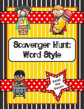 Scavenger Hunt:  Word Style