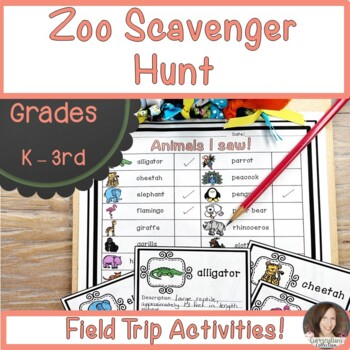 Scavenger Hunt and More:  Zoo Edition!
