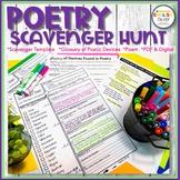 Poetry, Scavenger Hunt, Figurative Language, Poetic Devices