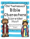 Scavenger Hunt for Bible Characters in the Old Testament