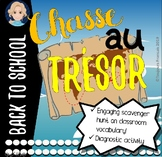 Scavenger Hunt for Classroom Vocabulary in French