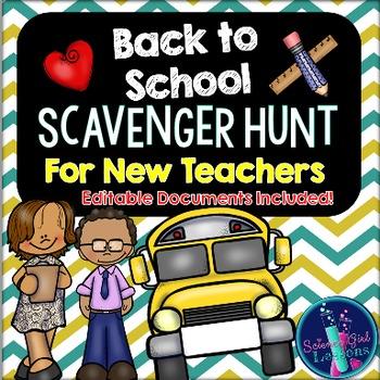 Scavenger Hunt for New Teachers