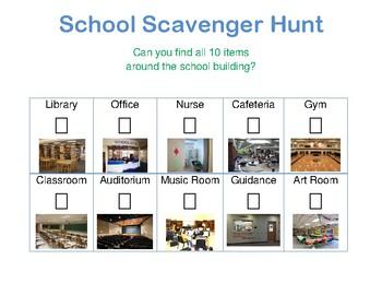 Scavenger Hunt for School