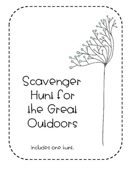 Scavenger Hunt for the Great Outdoors