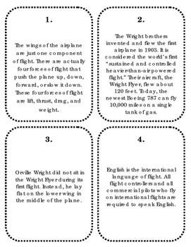 Scavenger Hunt on Airplanes