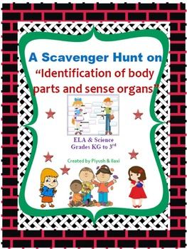 Scavenger Hunt on Identification of Body Parts and Sense Organs