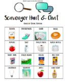 Scavenger Hunt w/ TRIVIA game- Grocery Store Life Skills Printable Teen & Adult