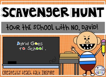 Scavenger Hunt with David At School!