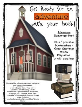 Scavenger Hunt with a Book