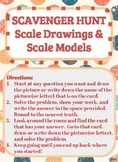 Scavenger Hunt_Proportions, Scale Drawings and Scale Models