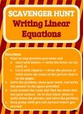 Scavenger Hunt_Writing Linear Equations