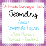 Scavenger Hunts: Area of Composite Figures